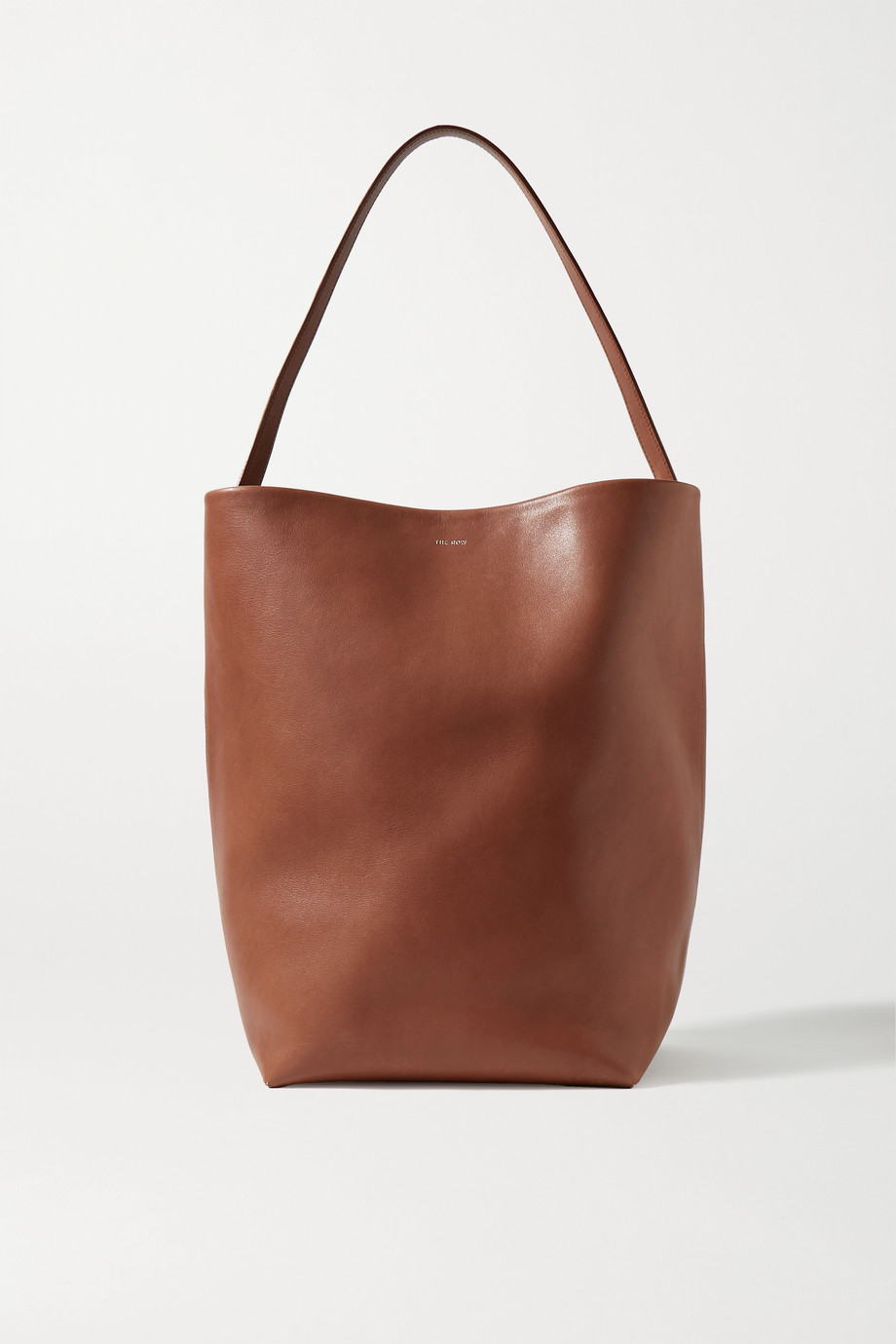 The Row N/S Park leather tote