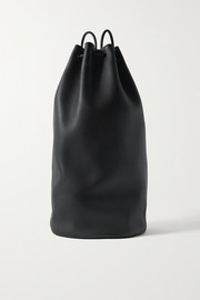 The Row Massimo textured-leather backpack
