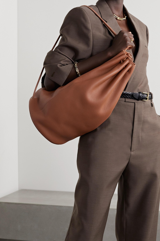 The Row Sac à dos en cuir texturé Massimo