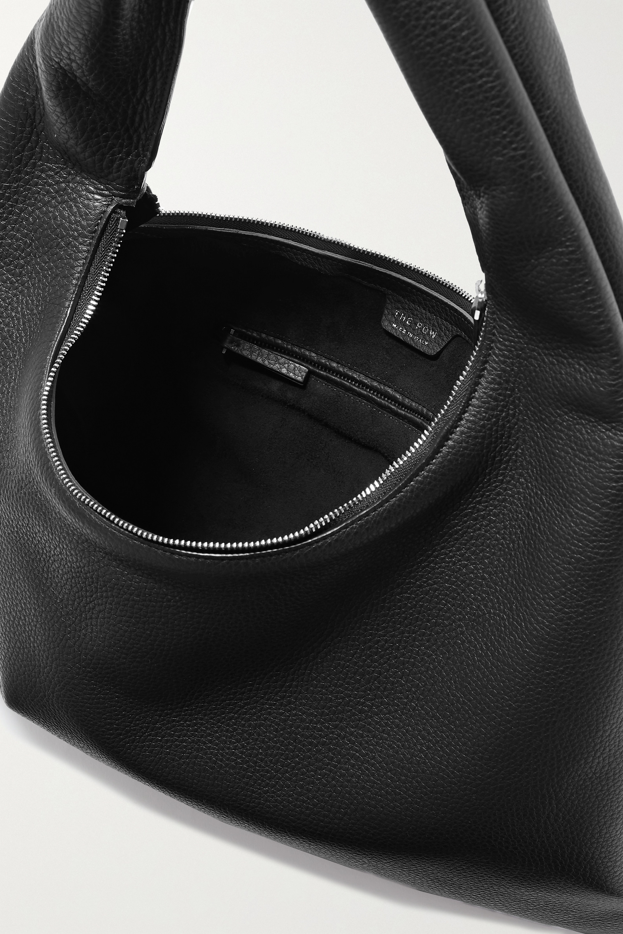 The Row Everyday medium textured-leather shoulder bag