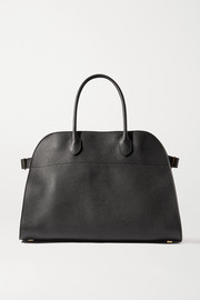 The Row Margaux 15 Air buckled textured-leather tote