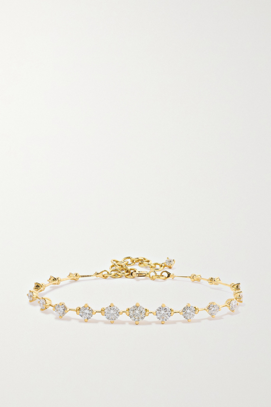 Fernando Jorge Sequence 18-karat gold diamond bracelet