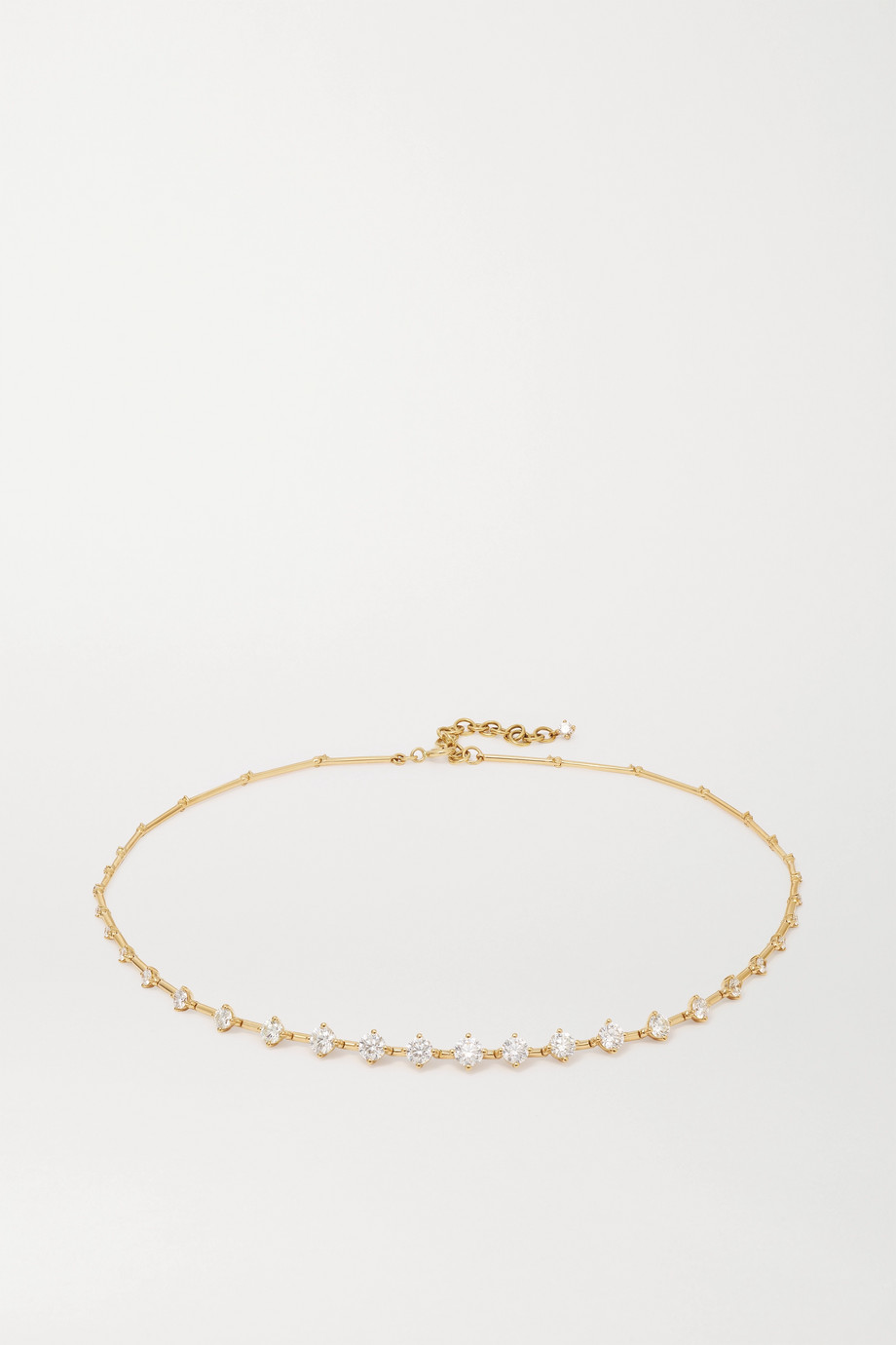 Fernando Jorge Sequence 18-karat gold diamond necklace