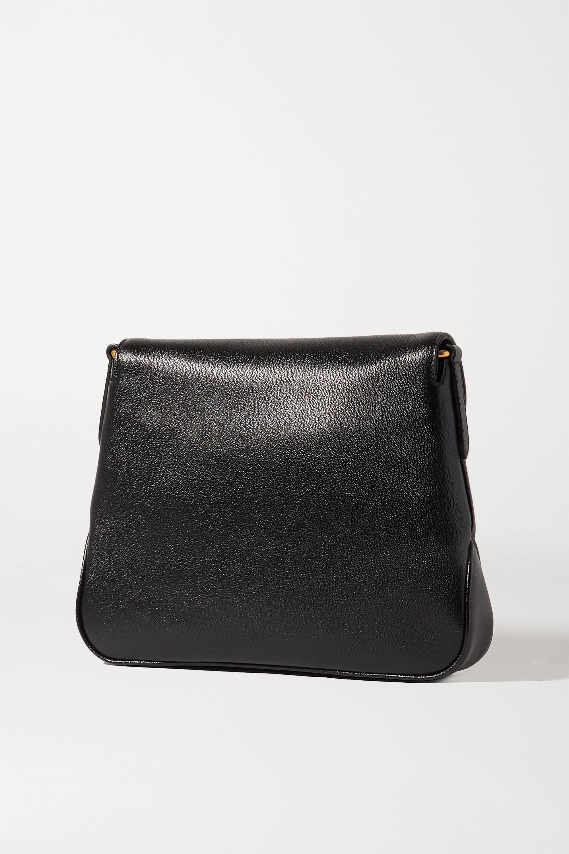 Gucci + NET SUSTAIN Dahlia textured-leather shoulder bag