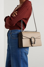 Gucci Dionysus small textured-leather shoulder bag