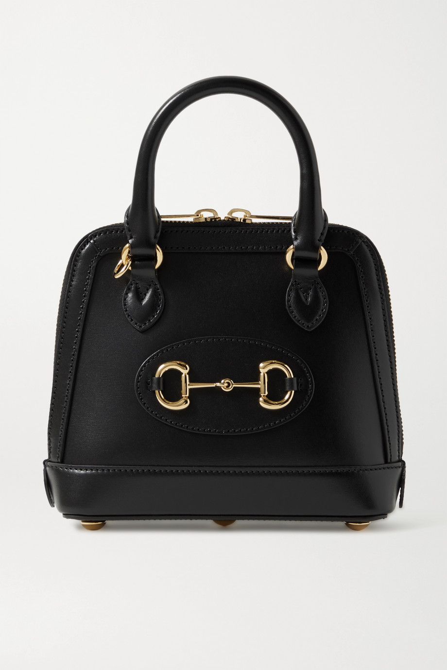 Gucci Mini sac à main en cuir à mors de cheval 1955 - NET SUSTAIN