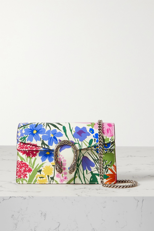 Gucci - + Ken Scott Dionysus super mini floral-print leather shoulder bag