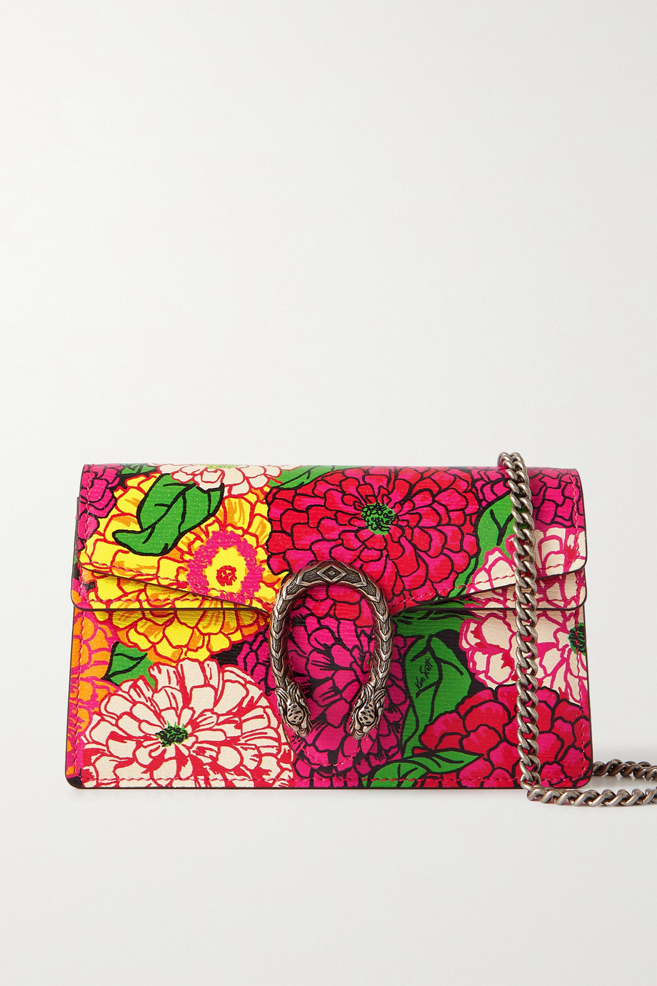 Gucci + Ken Scott Dionysus super mini floral-print leather shoulder bag