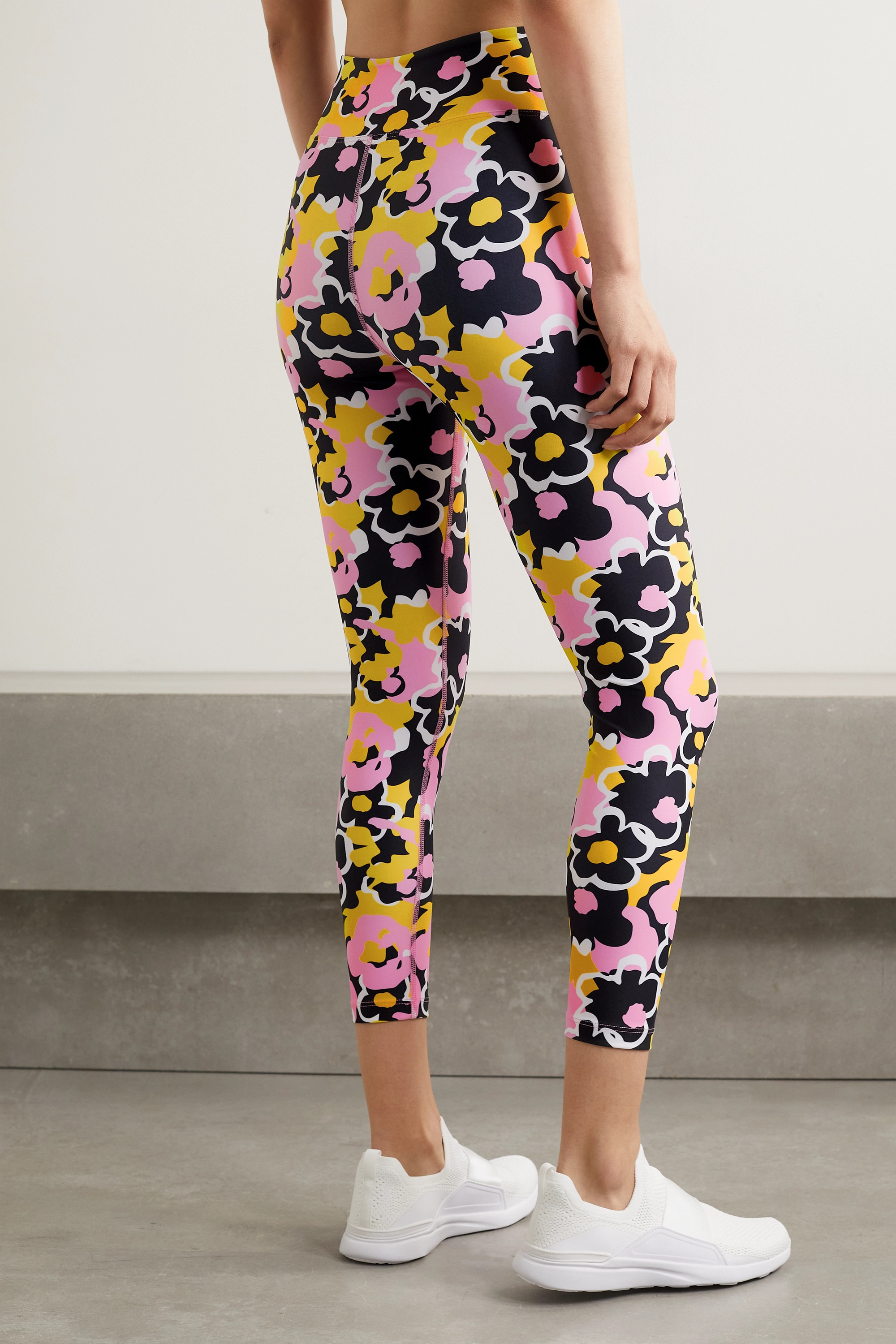 Year of Ours Veronica floral-print stretch leggings