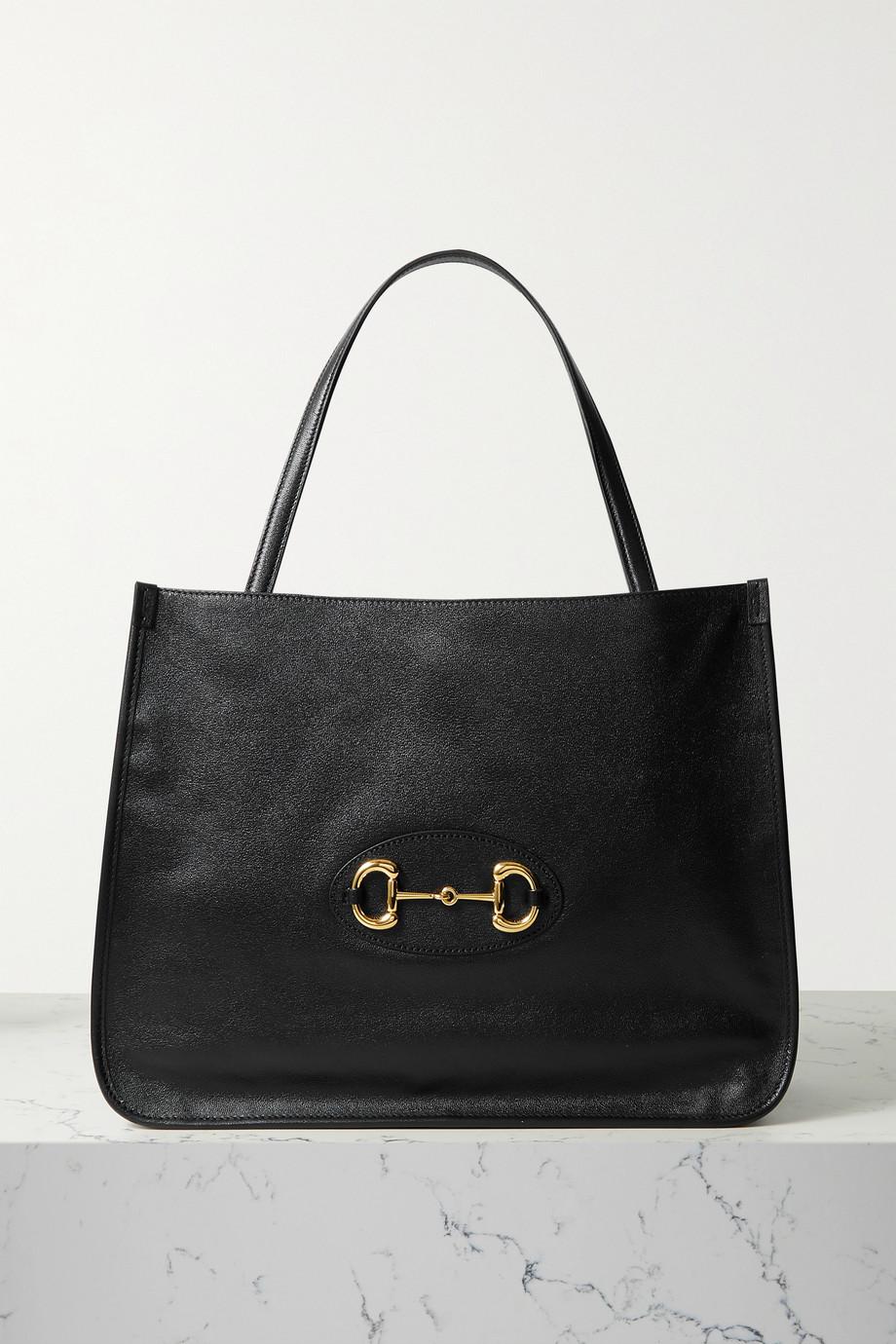 Gucci 1955 medium horsebit-detailed leather tote