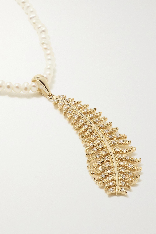 Mizuki Collier en or 14 carats (585/1000), perle et diamant
