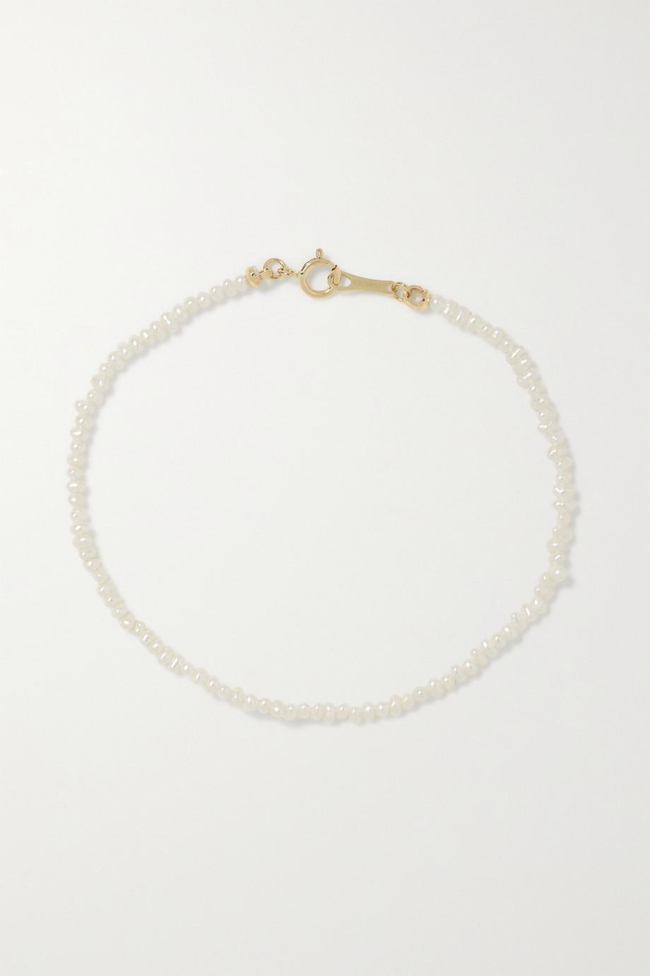 Mizuki Bracelet en or 14 carats (585/1000) et perles
