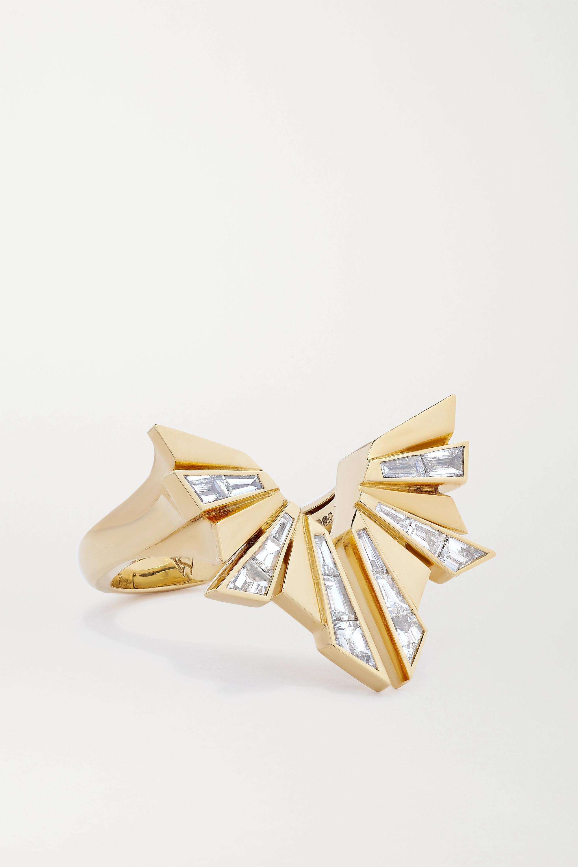 Stephen Webster + NET SUSTAIN Dynamite Ring aus recyceltem 18 Karat Gold mit Diamanten