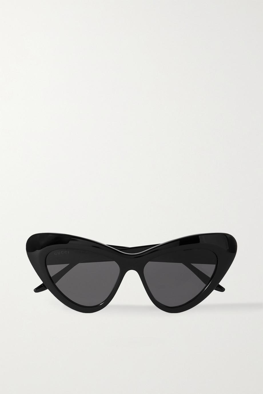 Gucci Sonnenbrille mit Cat-Eye-Rahmen aus Azetat