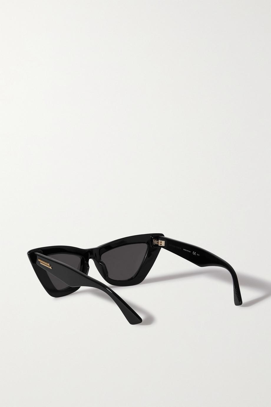 Bottega Veneta Sonnenbrille mit Cat-Eye-Rahmen aus Azetat