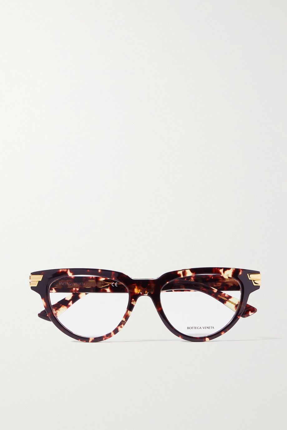 Bottega Veneta Cat-eye tortoiseshell acetate optical glasses