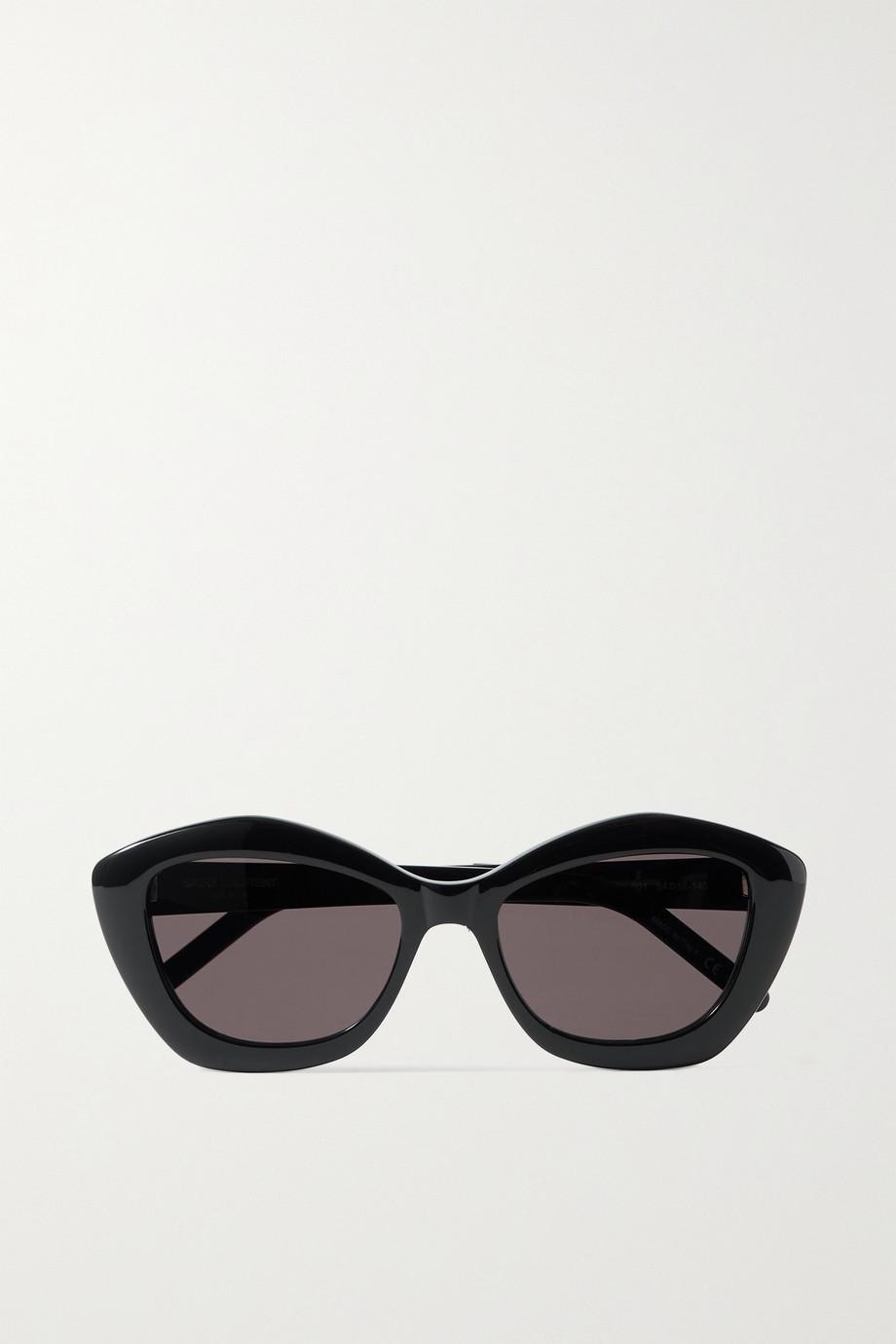 SAINT LAURENT Sonnenbrille mit Cat-Eye-Rahmen aus Azetat