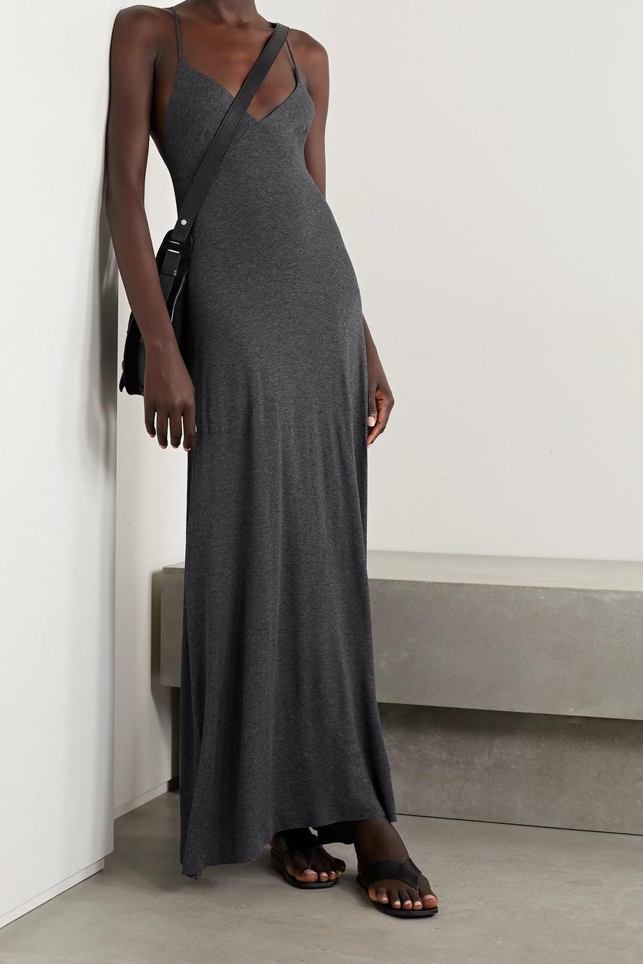 Norma Kamali Stretch-modal jersey maxi dress