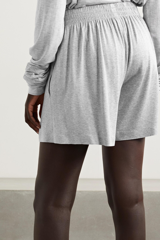 Norma Kamali Stretch-modal jersey shorts