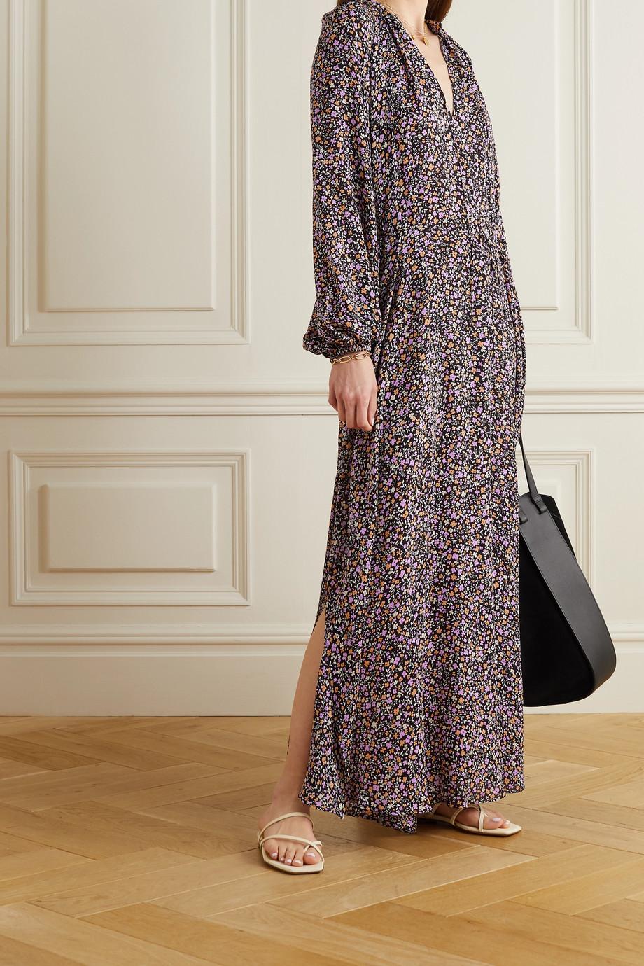Matteau + NET SUSTAIN floral-print silk maxi dress