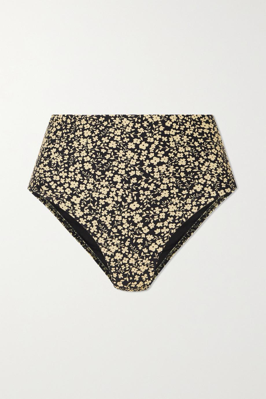 Matteau + NET SUSTAIN The High Waist floral-print stretch-ECONYL bikini briefs