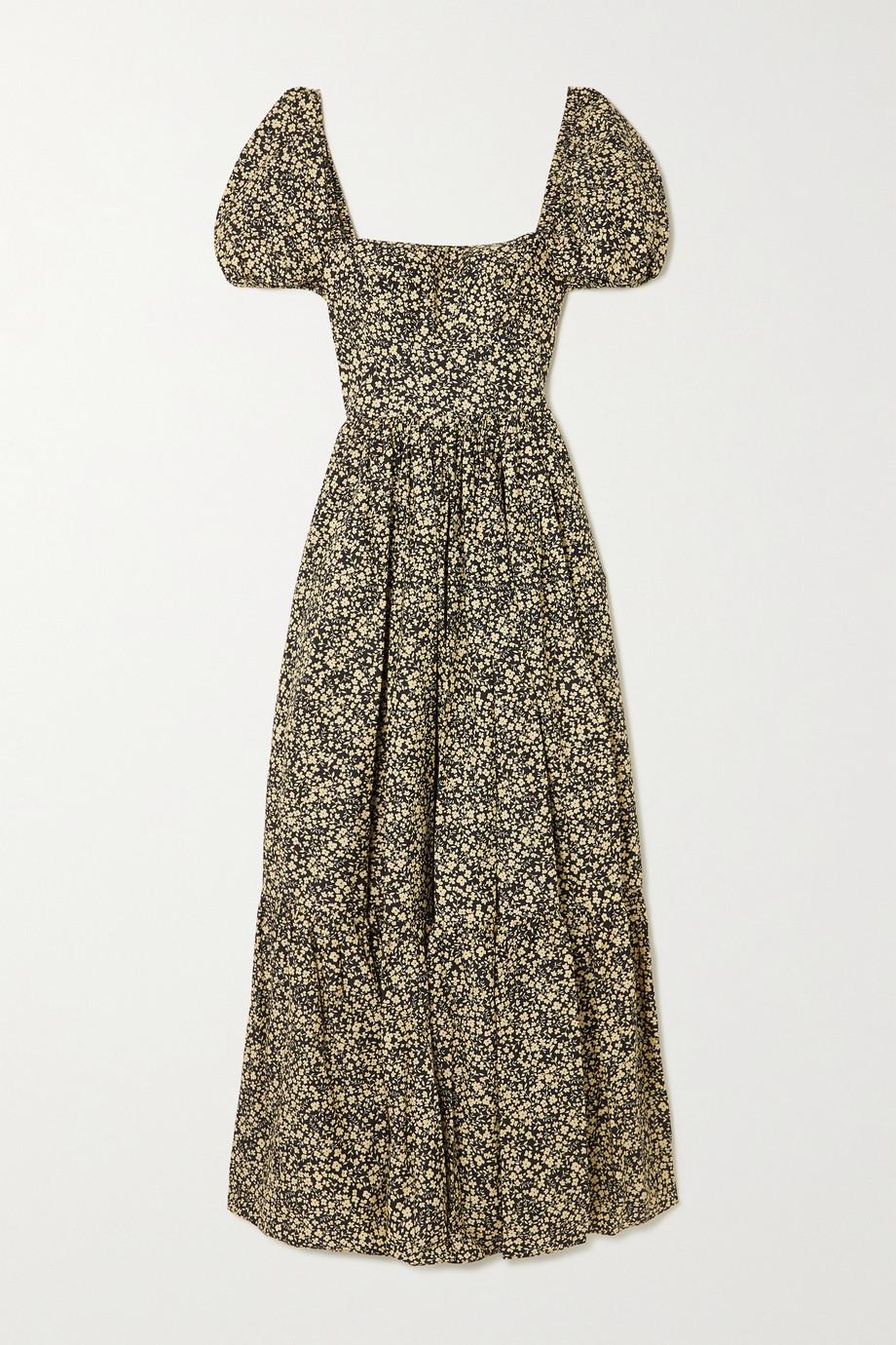 Matteau + NET SUSTAIN floral-print organic cotton-poplin maxi dress