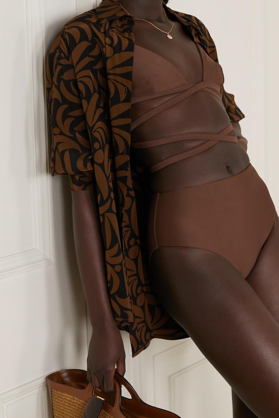 Matteau + NET SUSTAIN The High Waist bikini briefs