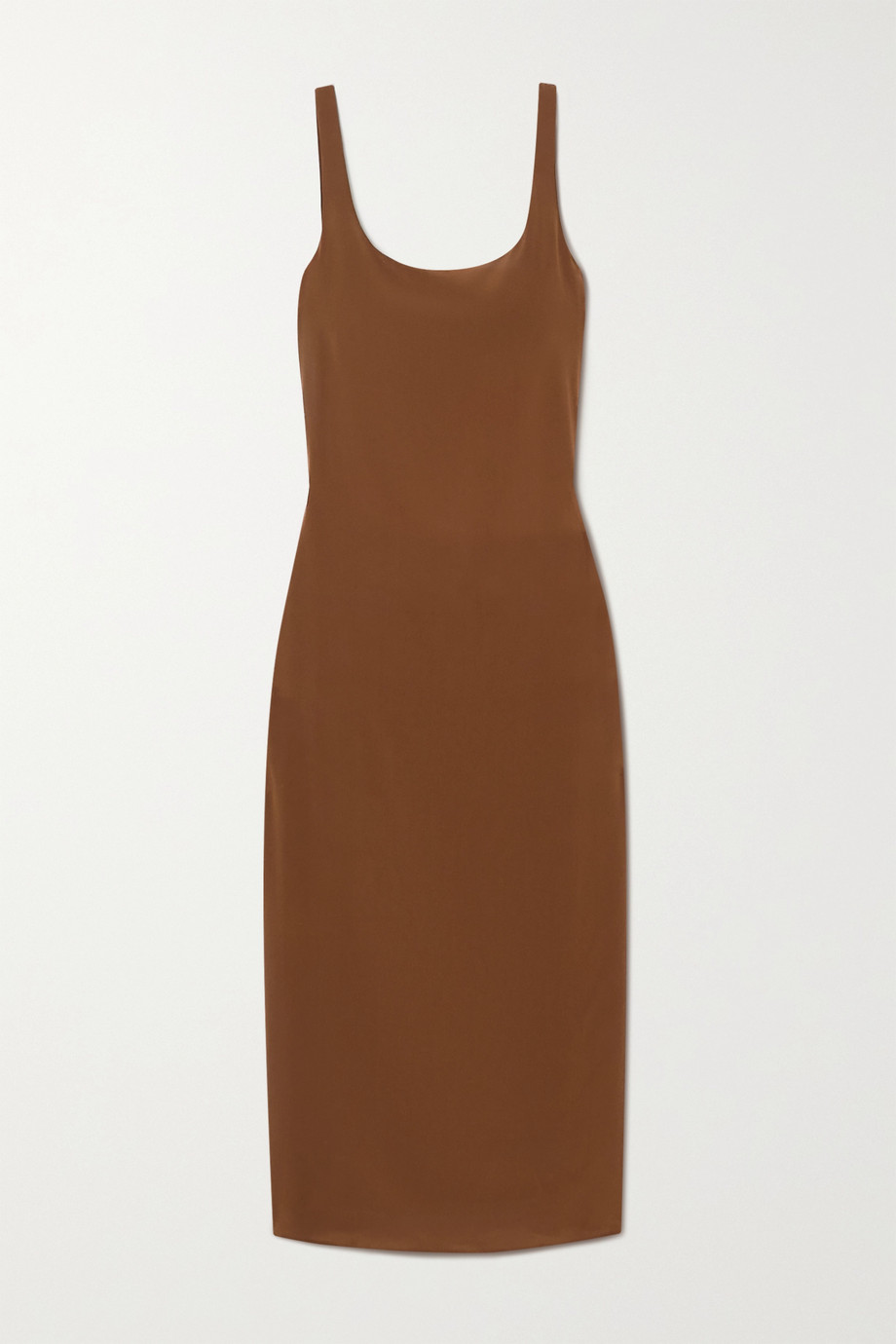 Matteau + NET SUSTAIN silk crepe de chine midi dress