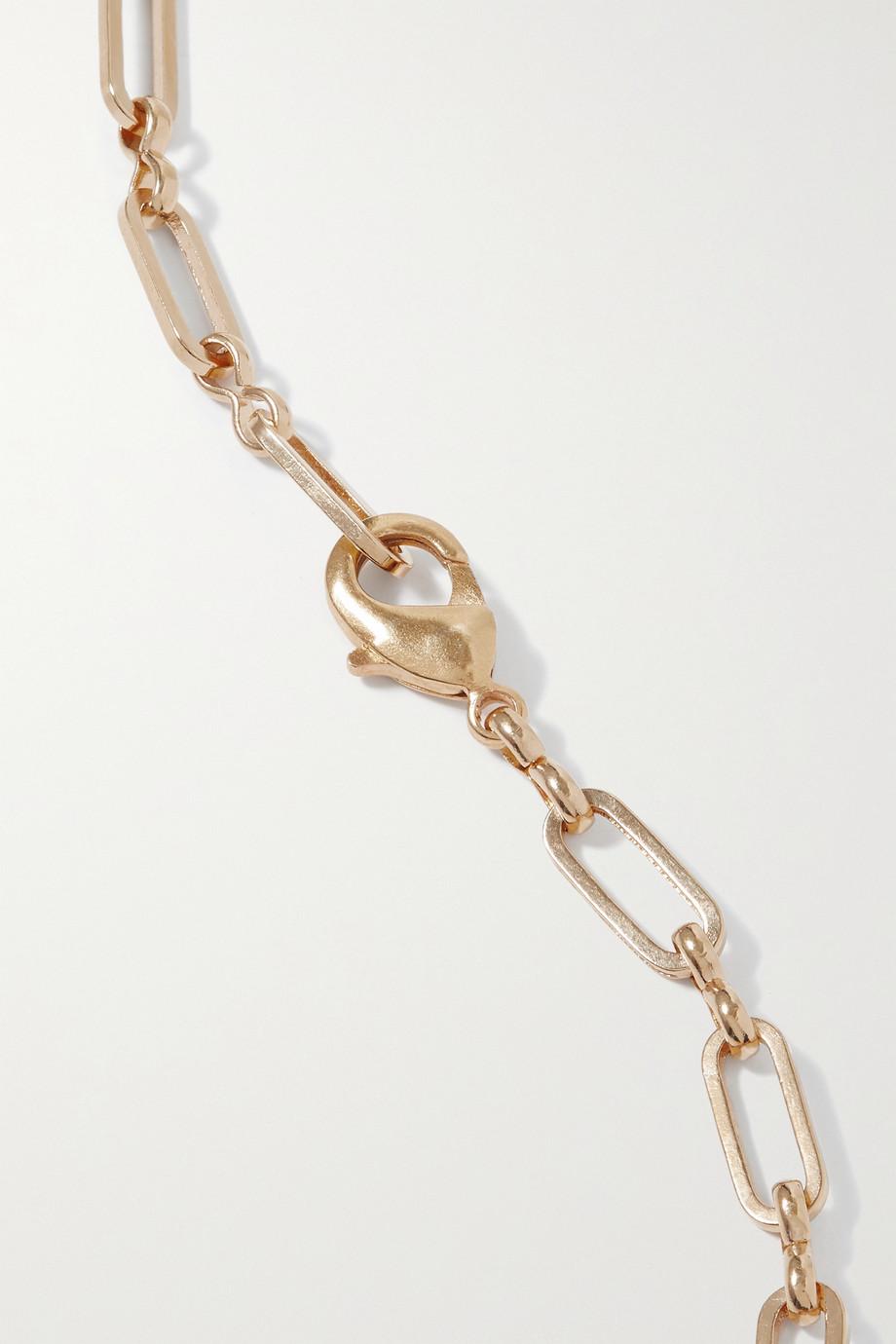 Timeless Pearly Collier en métal doré et résine