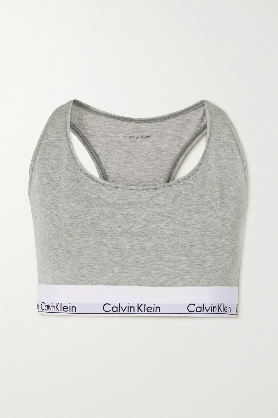 Calvin Klein Underwear DD+ Modern Cotton stretch cotton and modal-blend bralette