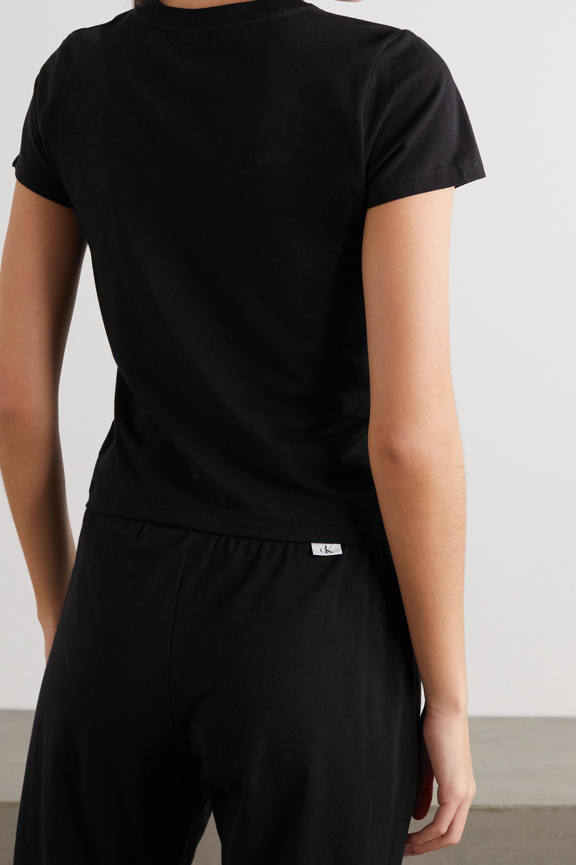 Calvin Klein Underwear CK One printed stretch-cotton jersey T-shirt
