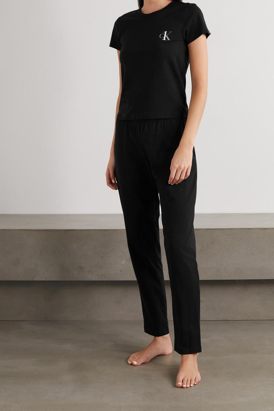 Calvin Klein Underwear CK One T-Shirt aus Stretch-Baumwoll-Jersey mit Print