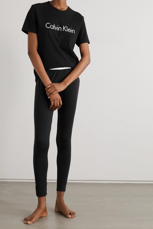 Calvin Klein Underwear Printed cotton-jersey T-shirt