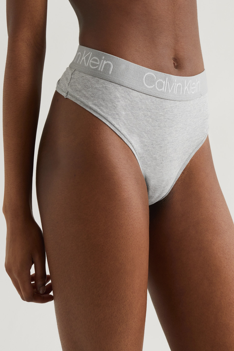 Calvin Klein Underwear Body set of three stretch-cotton jersey thongs