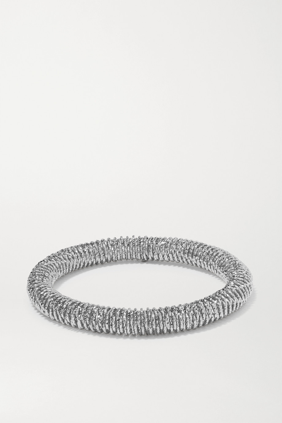 Carolina Bucci K.I.S.S. Small Armband aus 18 Karat Weißgold