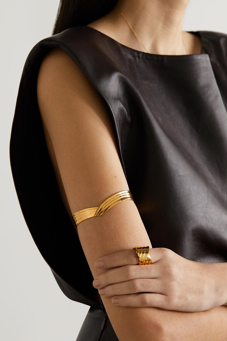 Leda Madera Bracelet en plaqué or Susan