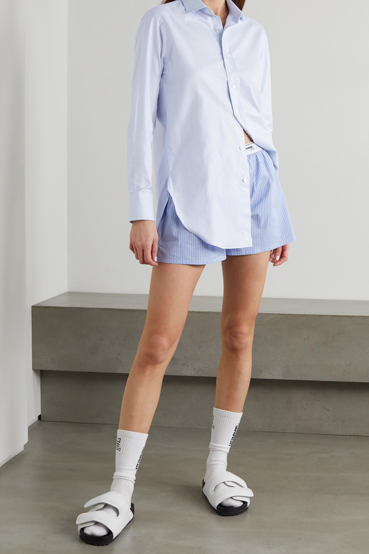Hommegirls Hemd aus Baumwollpopeline mit Stickerei