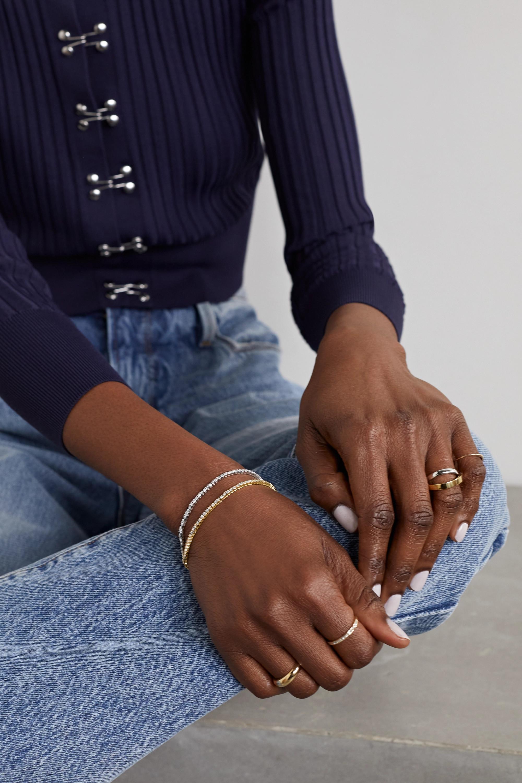 KATKIM 18-karat gold diamond bracelet