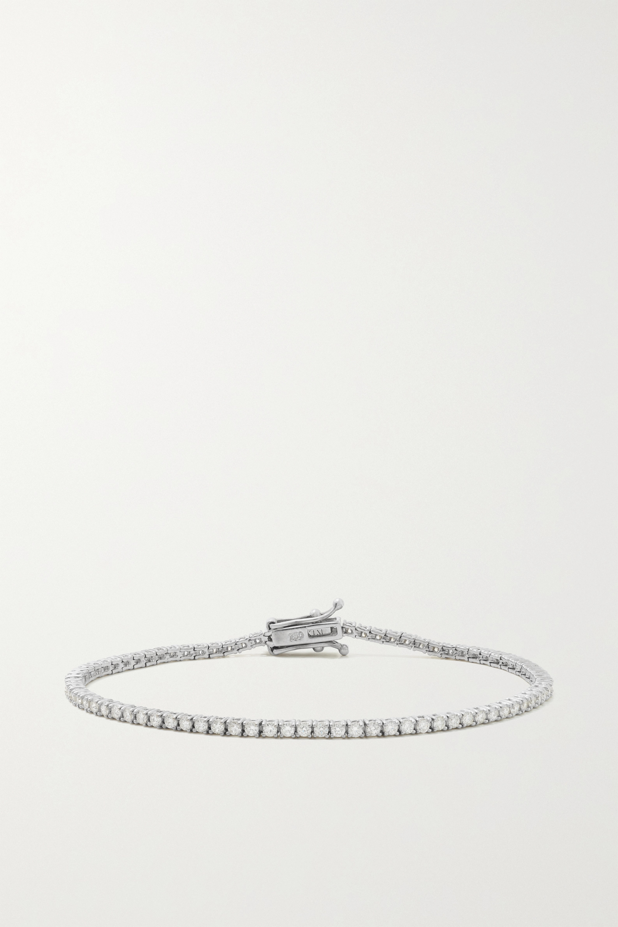 KATKIM White gold diamond bracelet