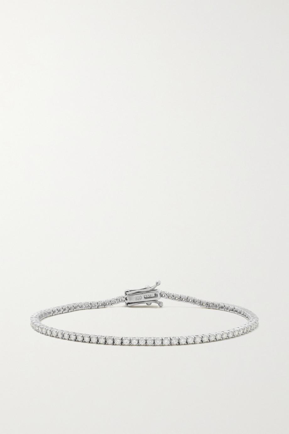KATKIM White gold diamond bracelet