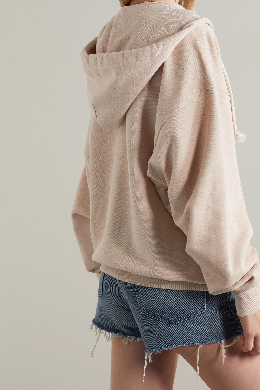 Acne Studios Sweat à capuche oversize en molleton de coton