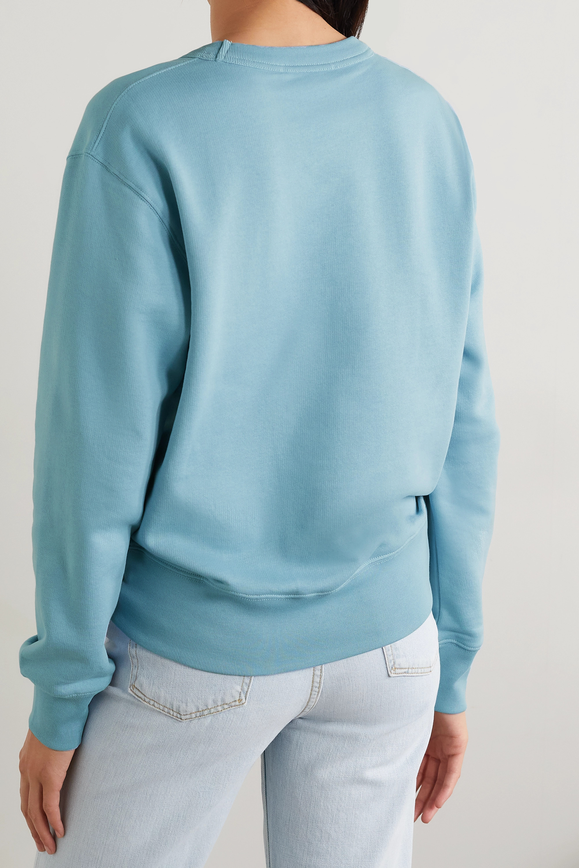 Acne Studios Sweat en jersey de coton à appliqué