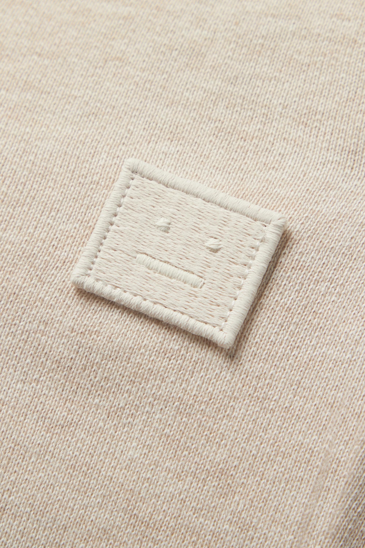 Acne Studios Pantalon de survêtement en jersey de coton à appliqué