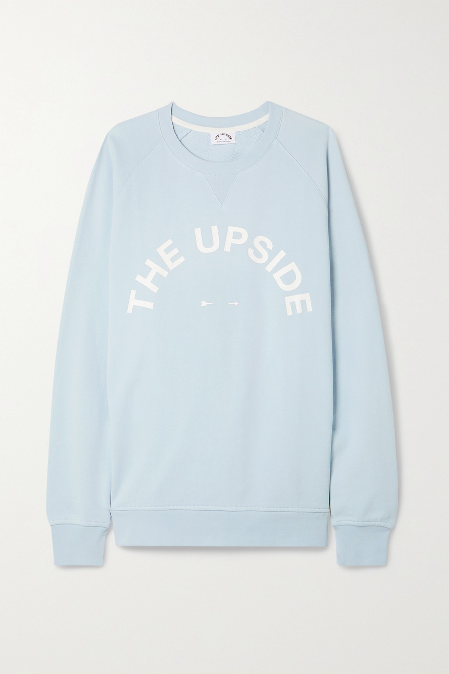 The Upside Sid printed cotton-jersey sweatshirt