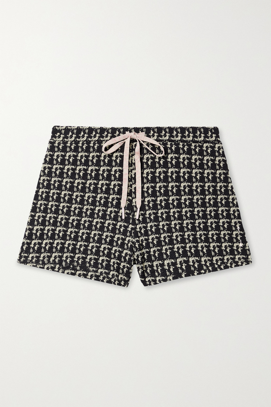 The Upside Elle stretch bouclé-jacquard shorts