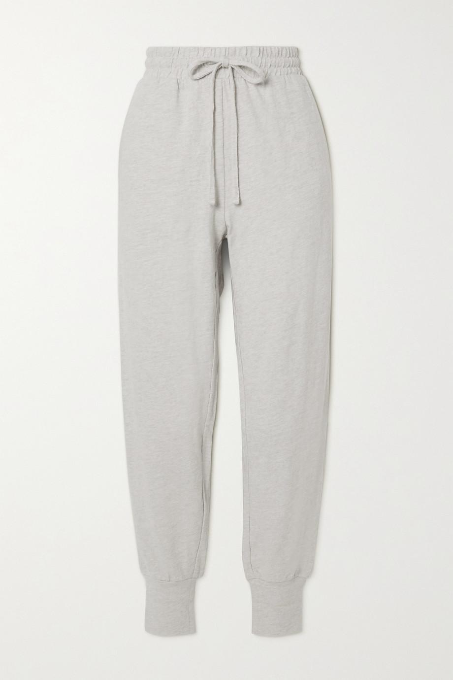 The Upside Long Island cotton-jersey track pants