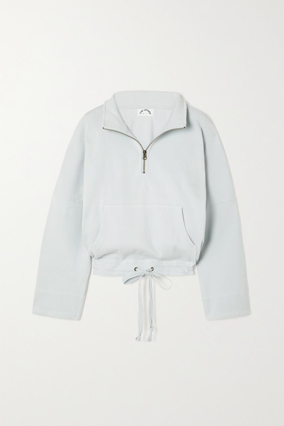 The Upside Ezi Tiena ribbed cotton-blend jersey sweatshirt