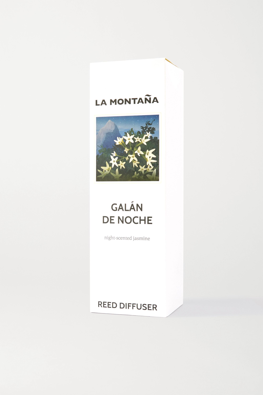 La Montaña Reed Diffuser - Galán de Noche, 120ml