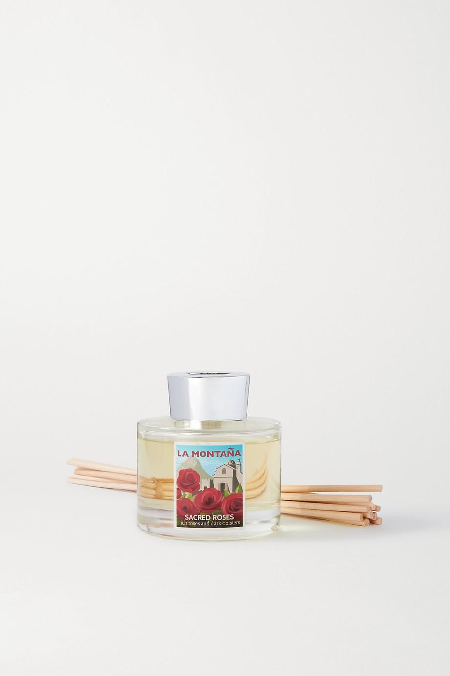La Montaña Reed Diffuser - Sacred Roses, 120ml