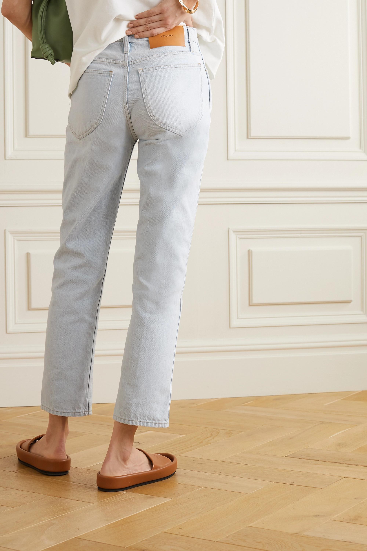 FRAME Le Italien hoch sitzende Jeans mit geradem Bein
